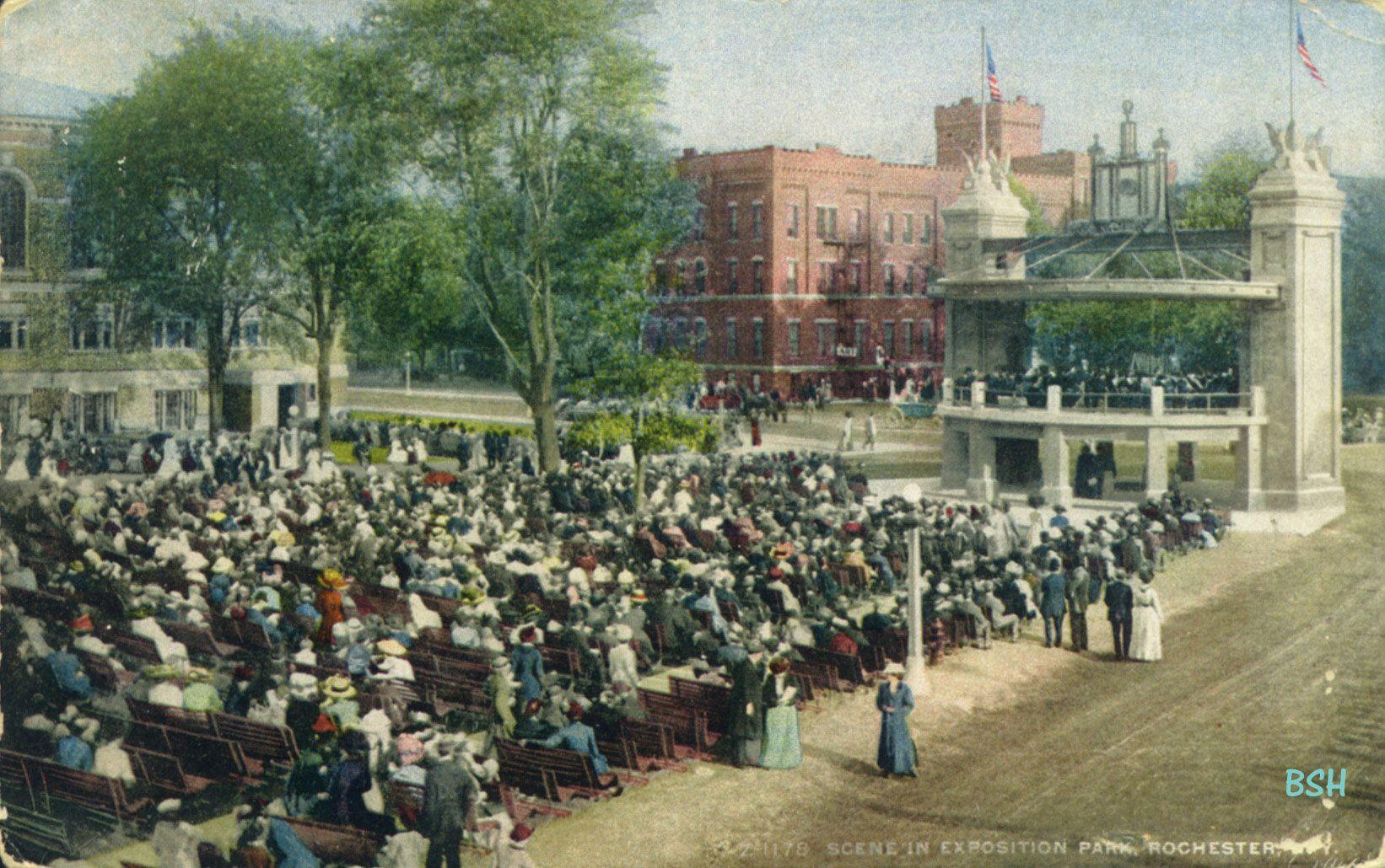 Exposition Park, now Edgerton Park, Rochester, New York
