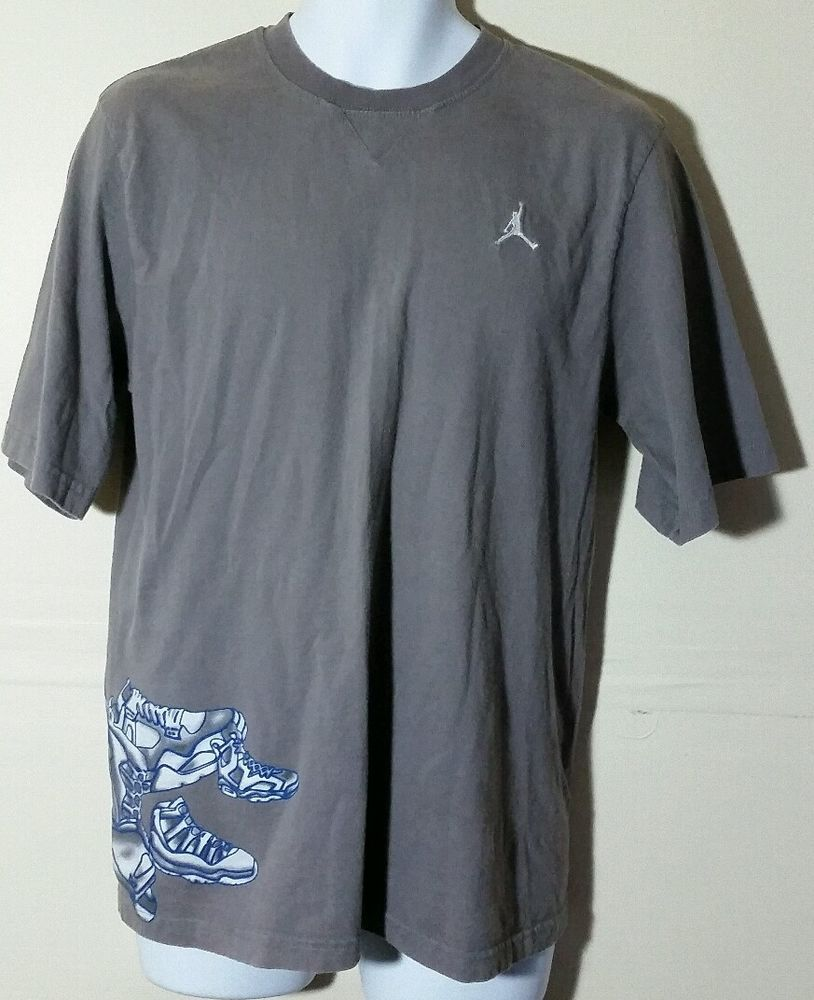 Rare Michael Jordan 20th Anniversary Mens T Shirt Size Xl Air Graphic Michaeljordan20thanniversary Tshirt