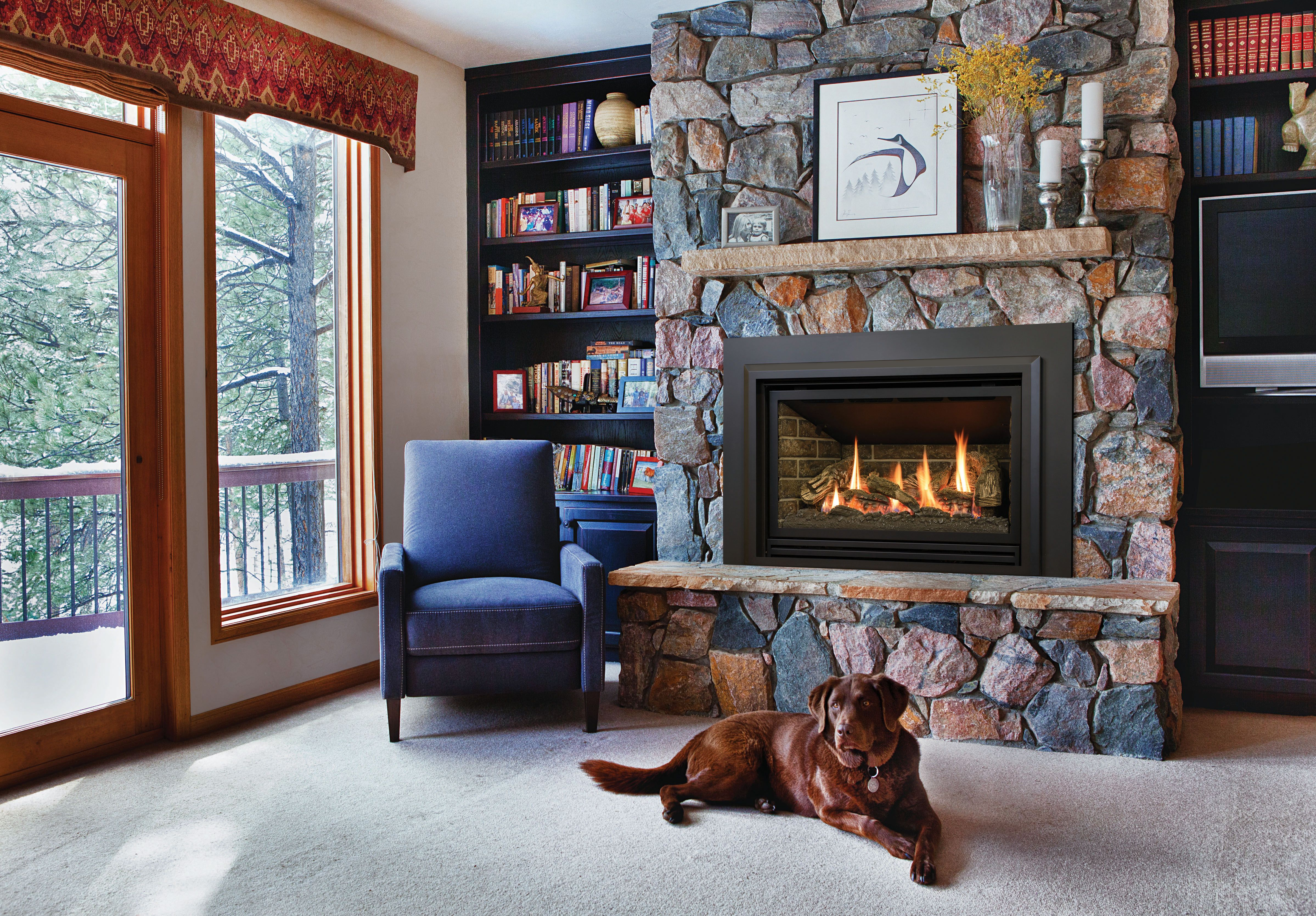 This Is Our Chaska 335s Gas Insert Fireplace For More