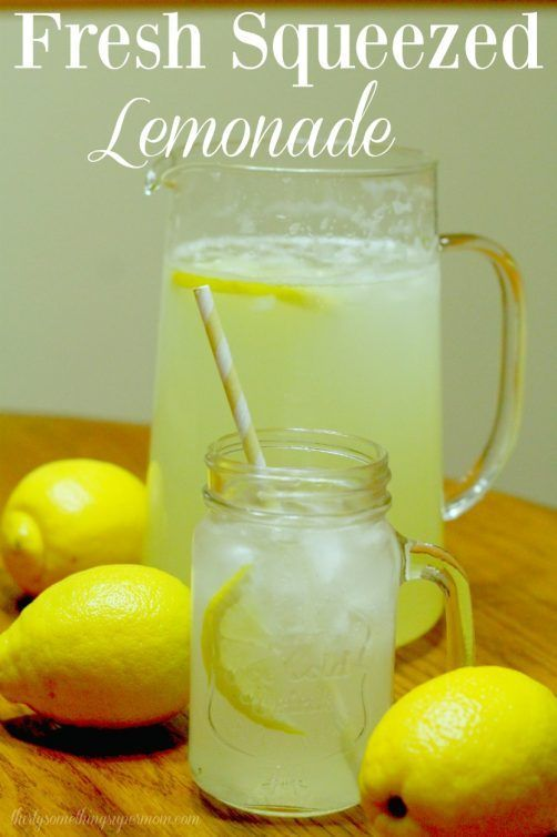 Lemonade #homemadelemonaderecipes