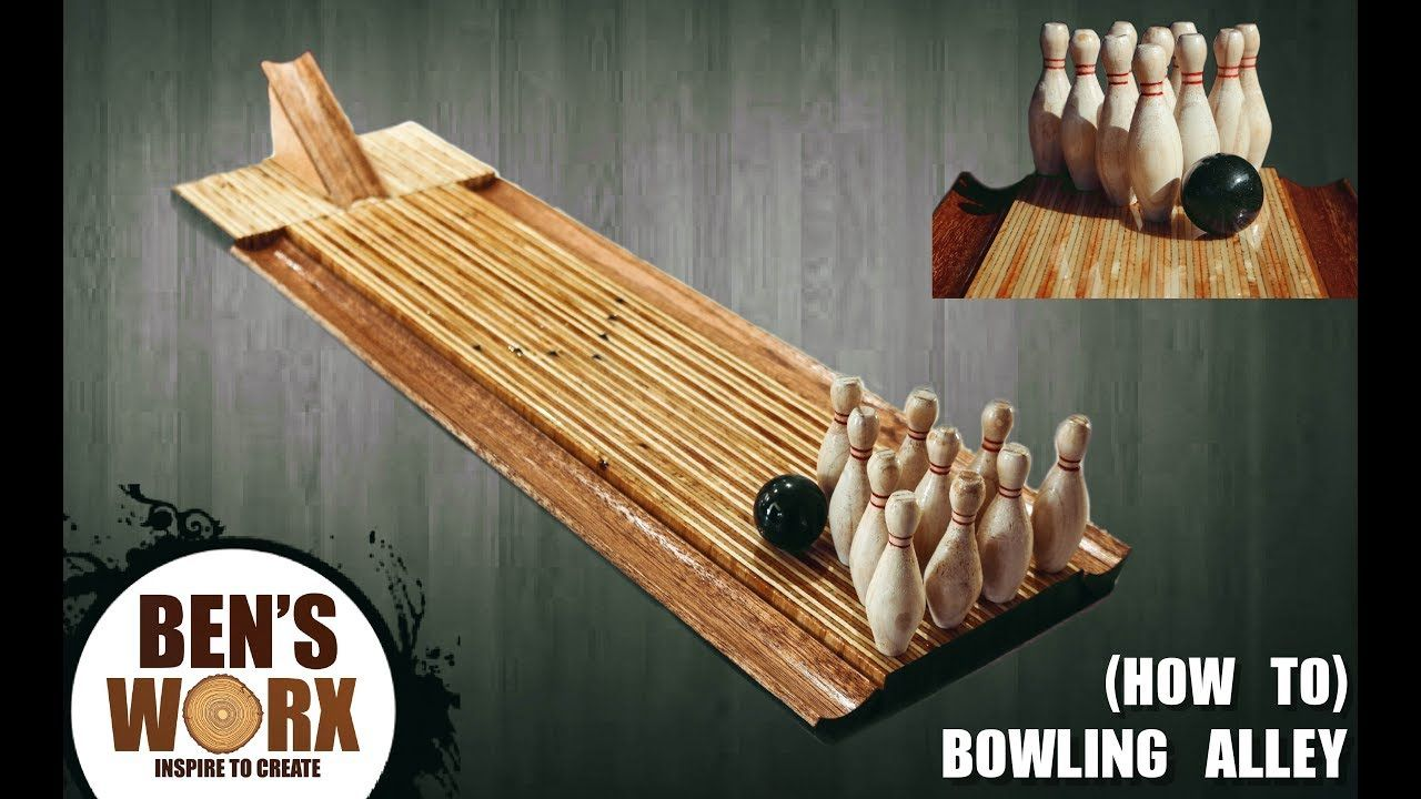 I MADE A BOWLING ALLEY **HOW TO** - YouTube | Woodworking