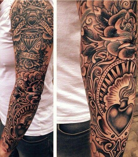 England Sleeve Tattoo Designs: Traditional English Tattoos - Google Search