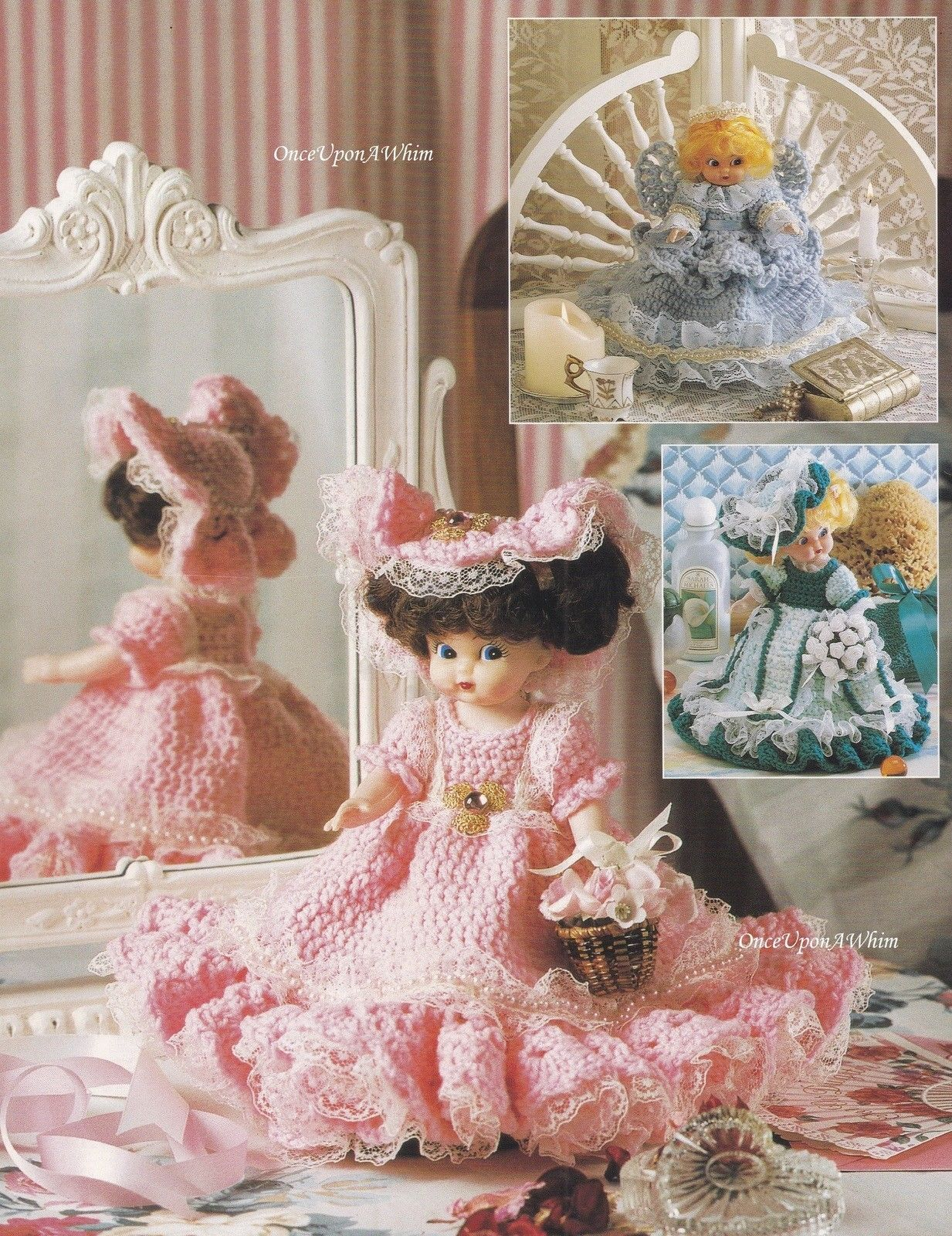 Sweet Scents Air Freshener Dolls Annie Potter Crochet Pattern
