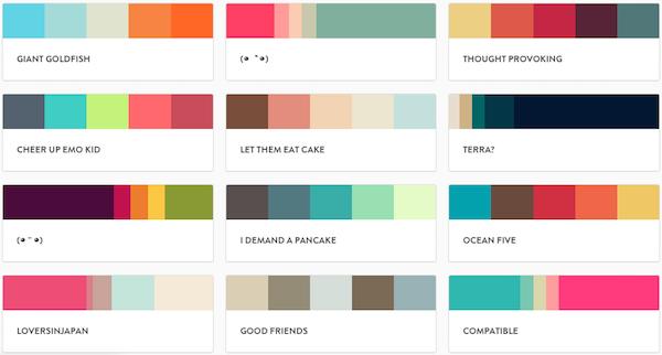 palette de couleurs gamme de couleur palettes de couleurs gamme ...