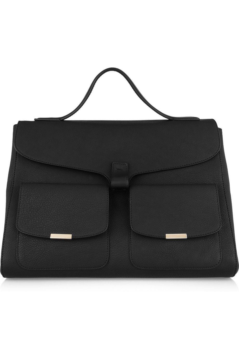 Victoria Beckham Harper Textured Leather Tote