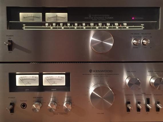 MINTY Beautiful Sound Kenwood Stereo Amplifier KA-5500 & Matching
