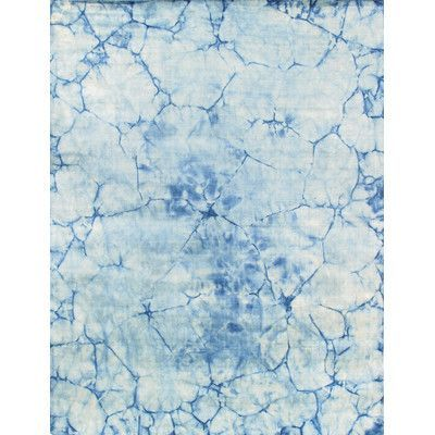Pasargad Allure Hand-Loomed Blue Area Rug