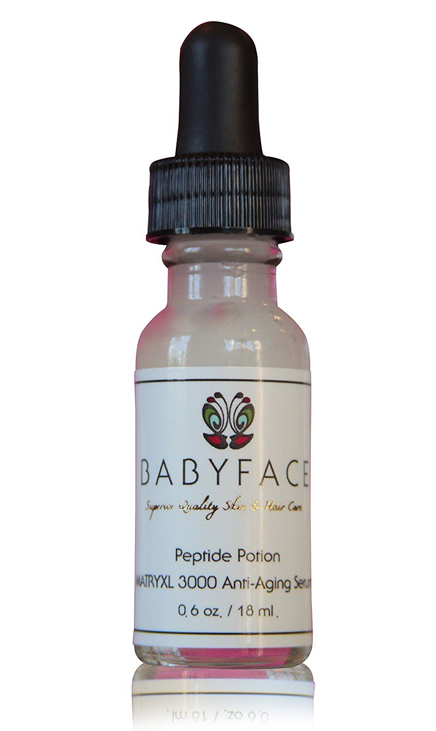 Babyface PEPTIDE POTION Concentrated Matrixyl 3000 Serum ~ Firming Serum and Wrinkle Filler, Instant Tightening Effect - 0.6 oz ** See this awesome image  : Face Oil and Serums