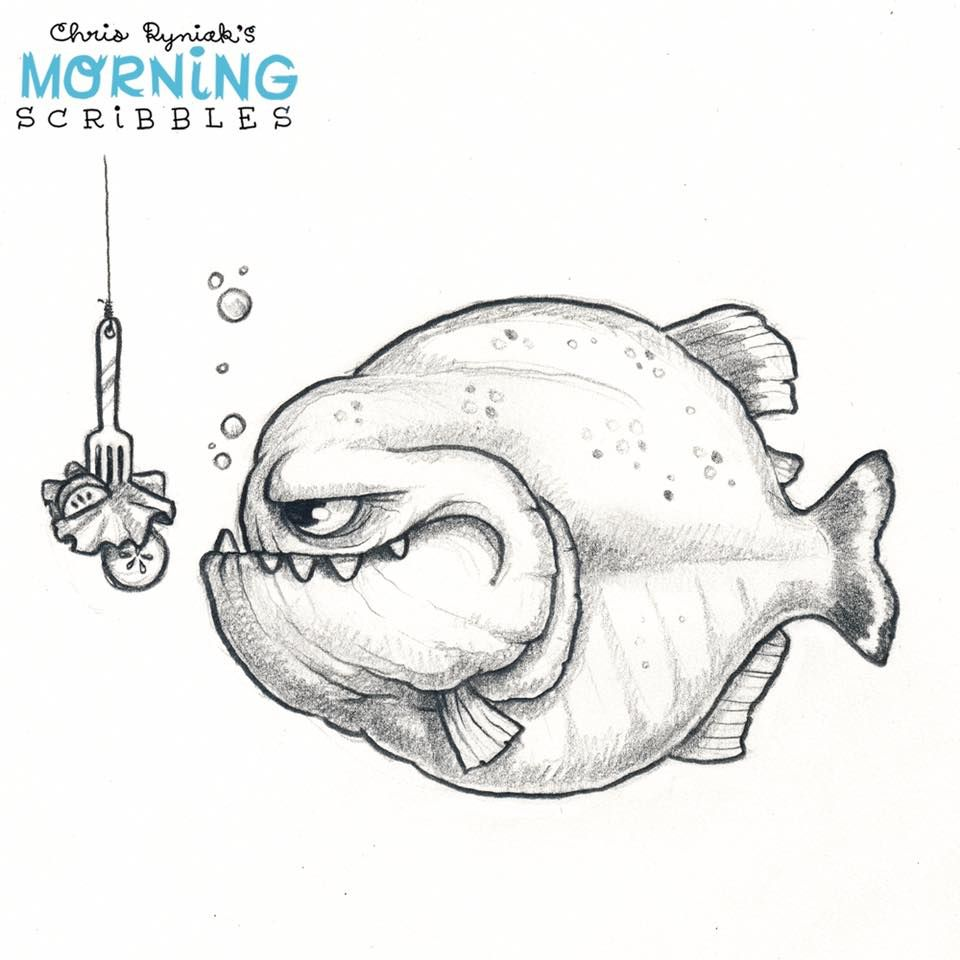 Piraña | Mandalas y dibujos | Pinterest | Dibujo, Cuadernos de ...