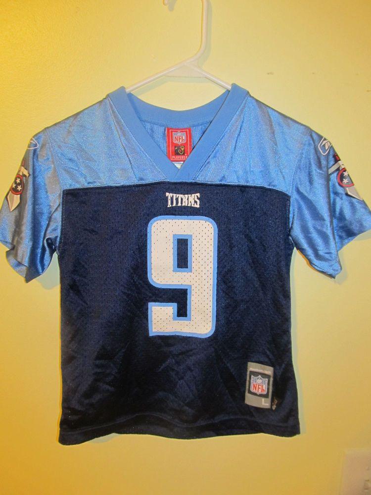 Steve McNair Tennessee Titans Jersey Reebok Boys 7 #Reebok