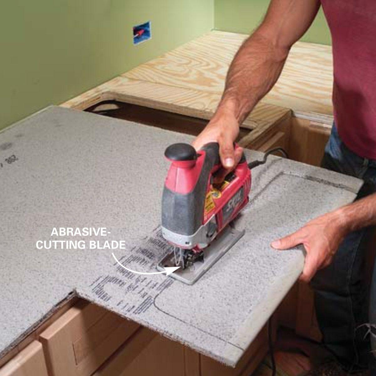 Installing Tile Countertops Tile Countertops