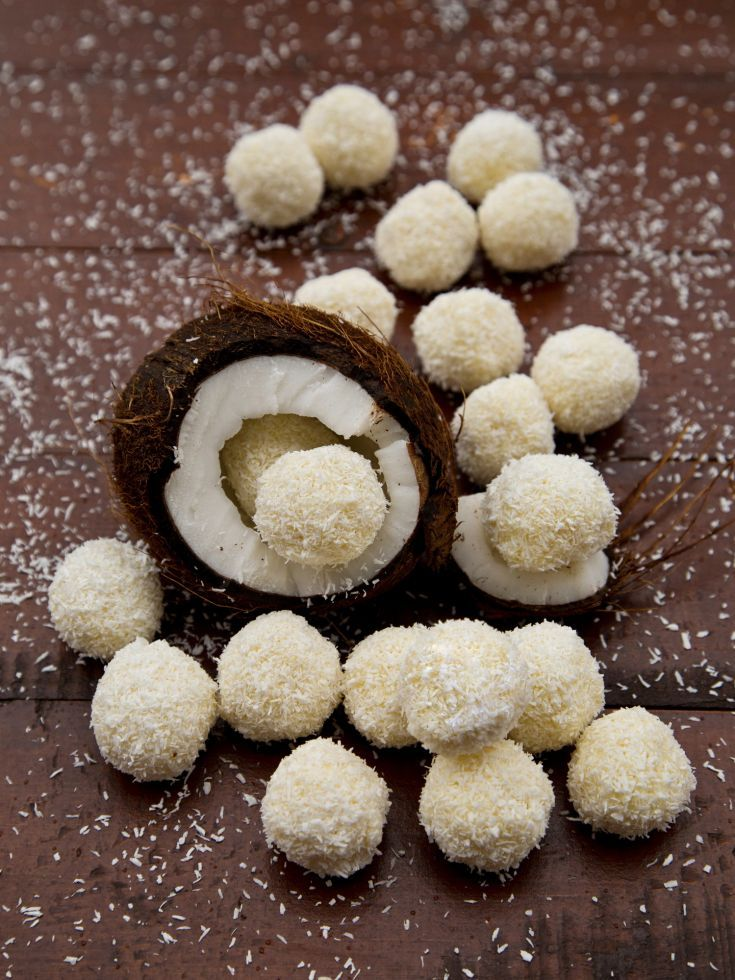 Kokosové raffaello guľky