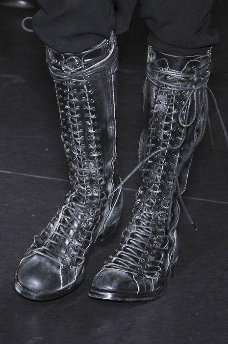 Demeulemeester boots.