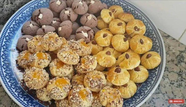 غريبة معلكة من وصفات زمان من عجنة وحدة خرجي ثلاثة أشكال مختلفة وبكمية كبيرة Food Breakfast Muffin