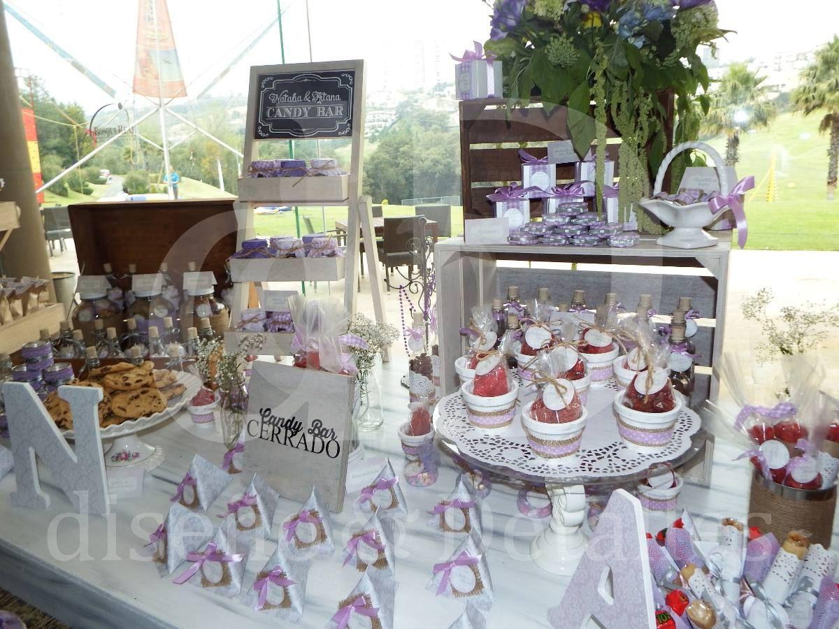 Mesa de dulces y postres premium vintage para bodas xv for Mesa de dulces para 15