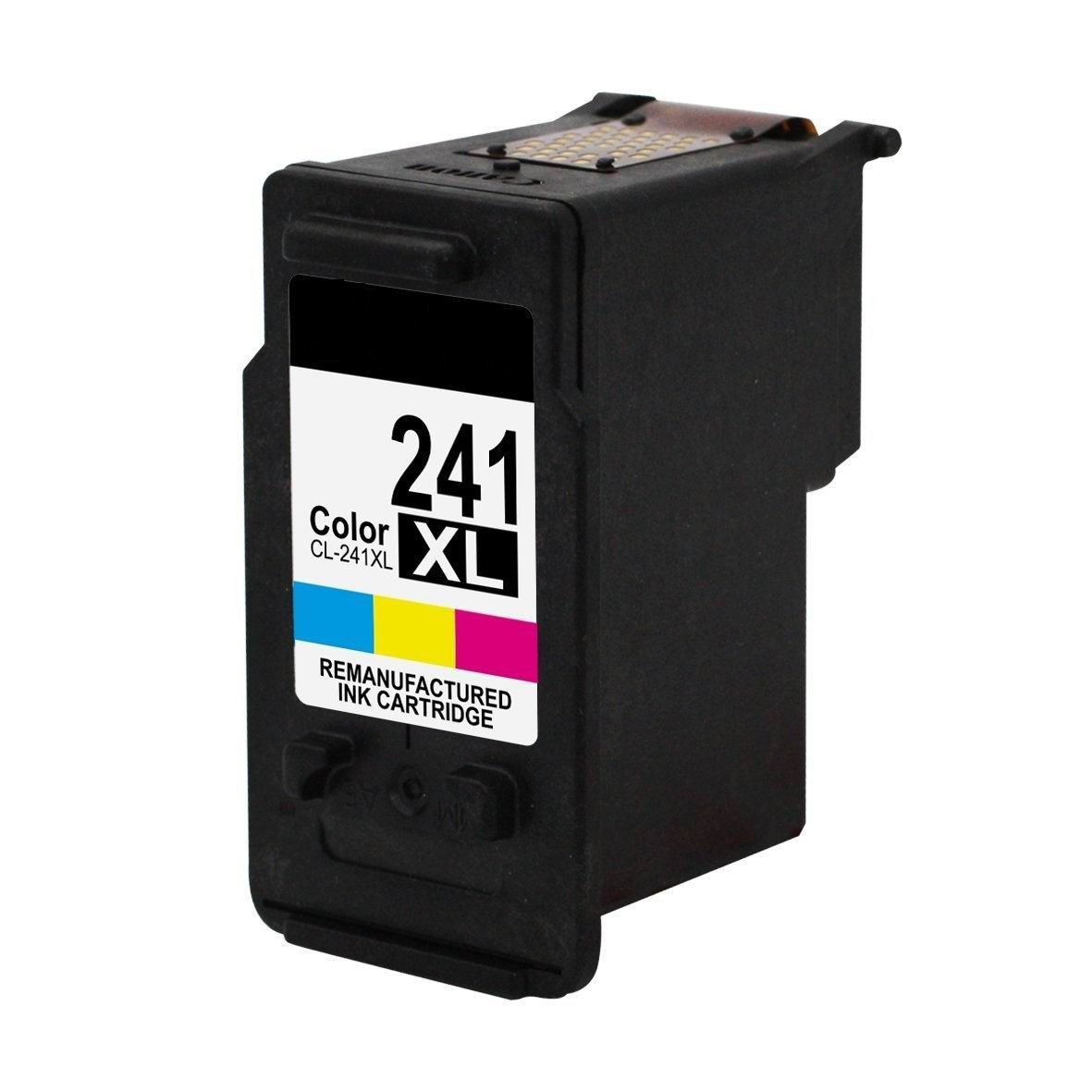Remanufactured Canon CL 241 XL Color Ink Cartridge