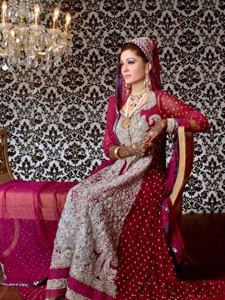 Pakistani Wedding Bridal gown | Desi | Pinterest