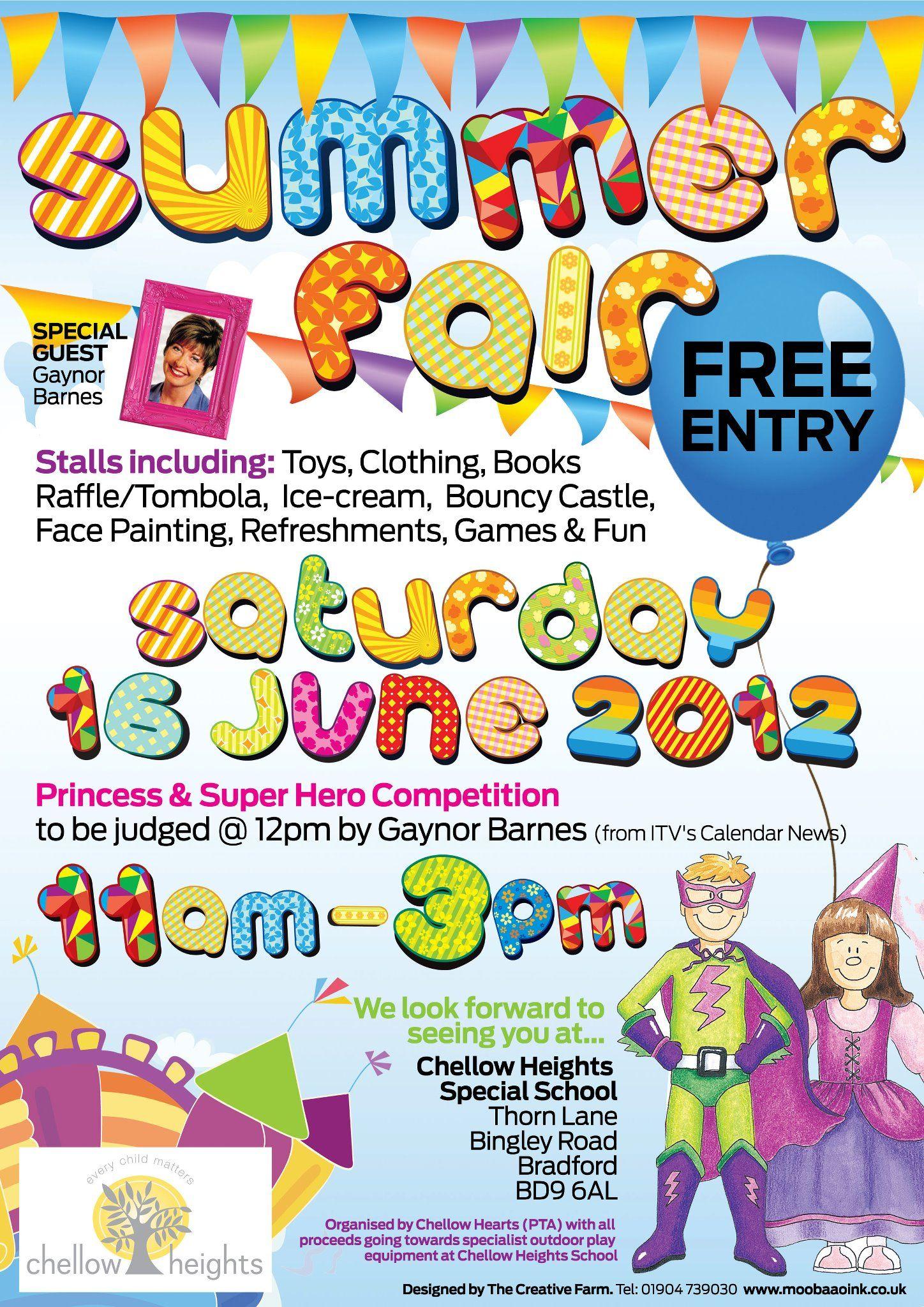 summer fair 16th june 2012