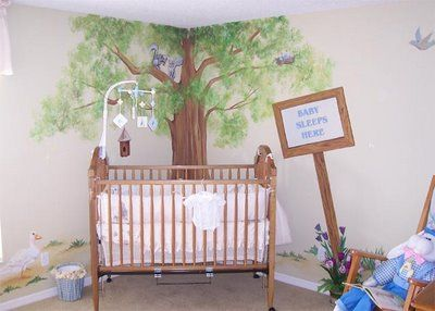 Baby room murals on wall murals are also a wonderful way for Beatrix potter bedroom ideas