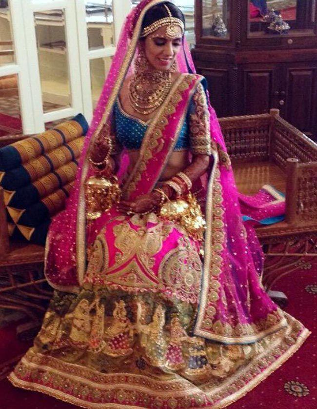 Riteish and Genelia Deshmukh at Nishka Lulla's wedding ...