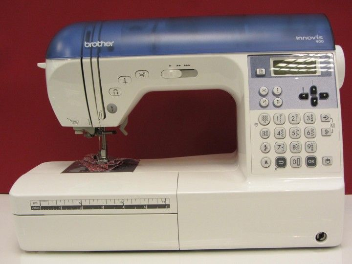 Brother Innov Is 40 Traded In My Viking For This Looking Forward Awesome Viking 400 Sewing Machine Review