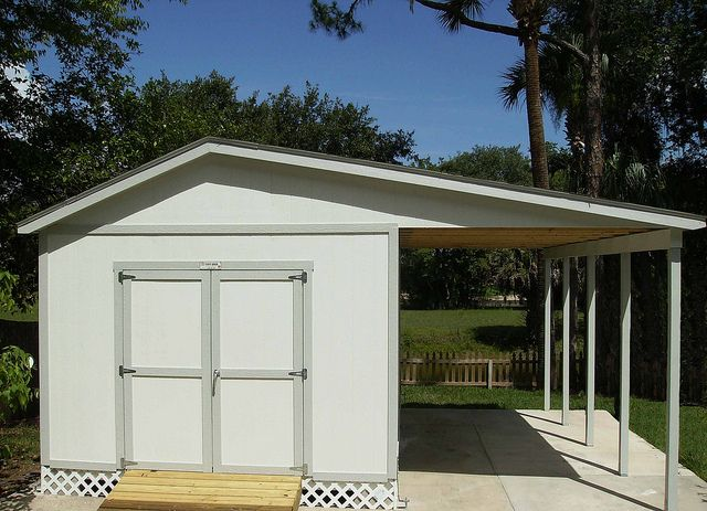 PRO Tall Ranch (10x20) W/ Carport On Side By TUFF SHED Storage Buildings U0026  Garages, Via Flickr