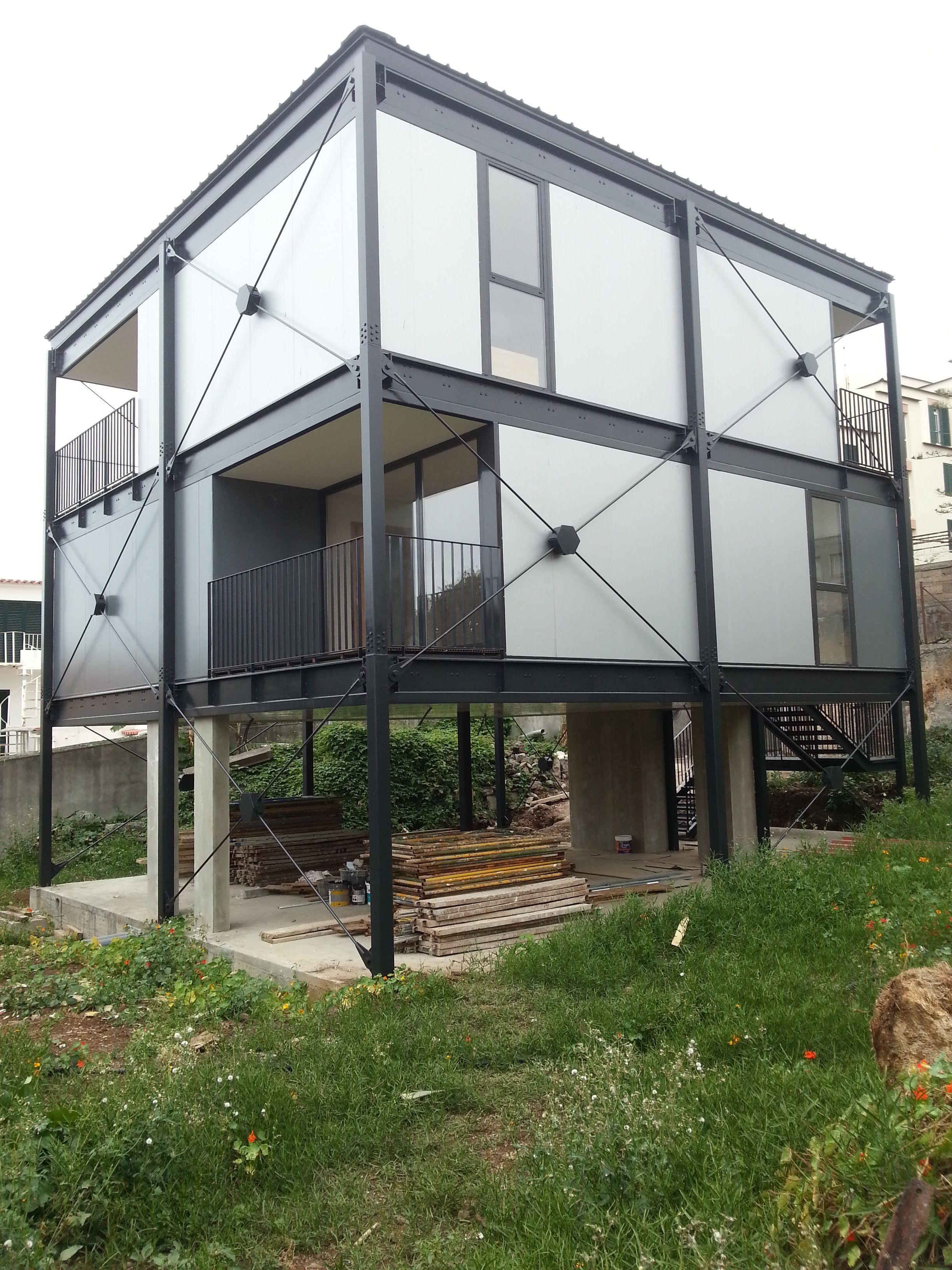 Prototipo 31 03 2015 Metalbarnhomes Steel House Steel Frame