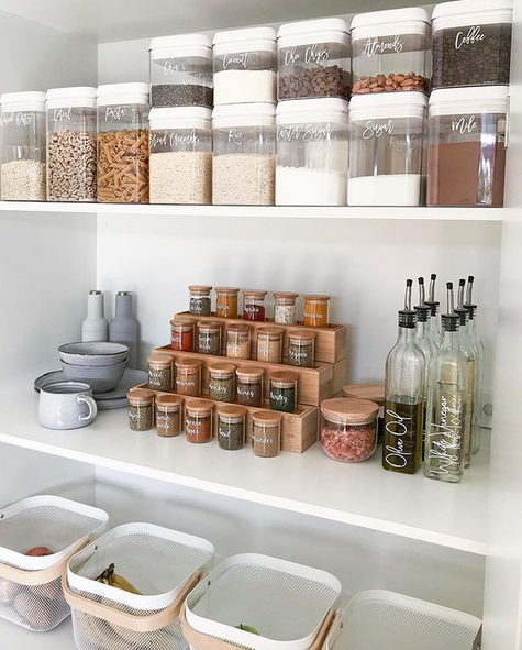 20 of the coolest kmart hacks ever pantry organisation pantry inspiration kitchen on kitchen ideas kmart id=28703