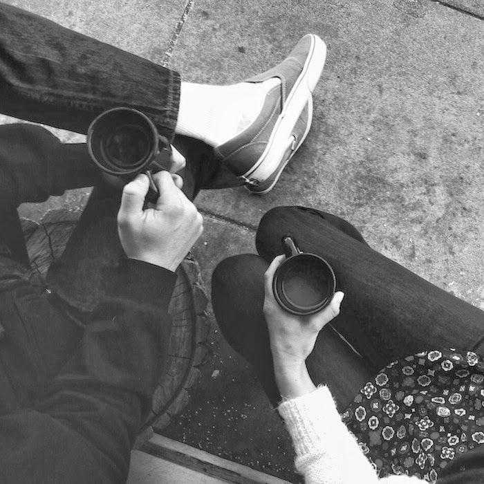 morning coffee date