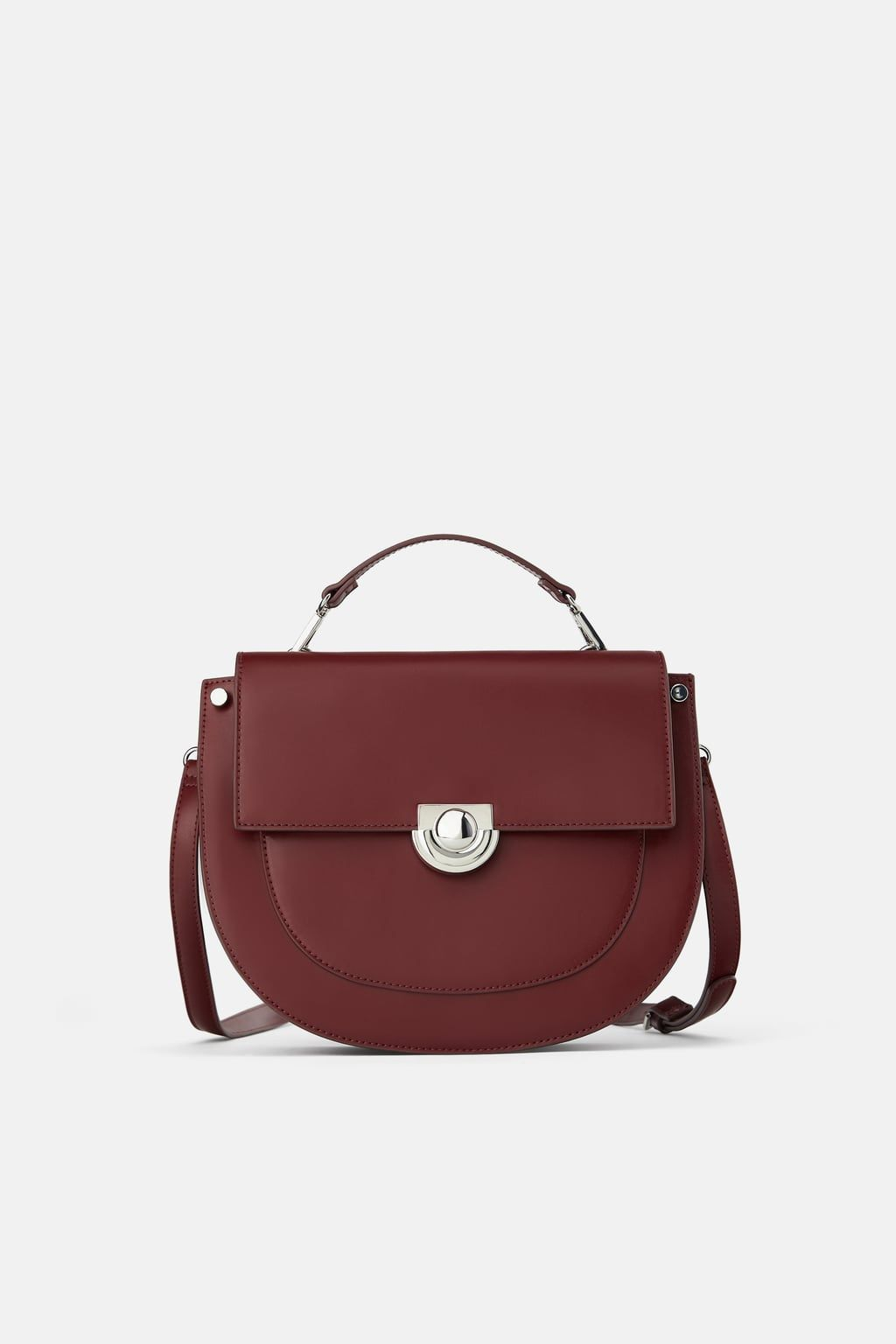 JL Collections Womens Leather Crossbody Bag