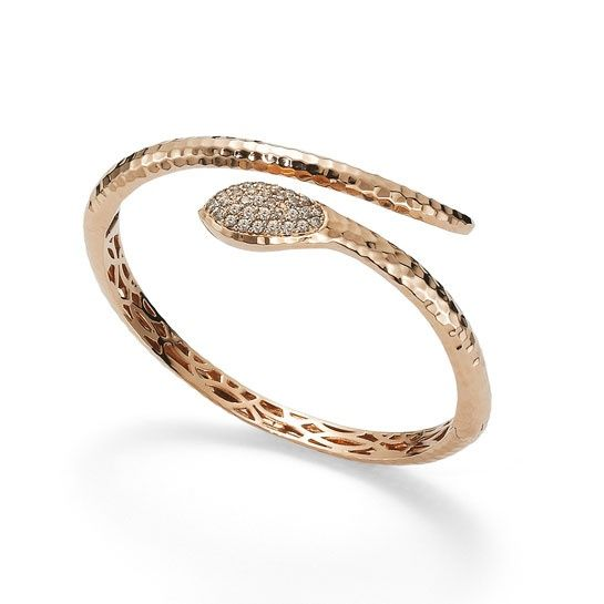 Roberto Coin Jewelry Snake Bracelet In 18 Carat