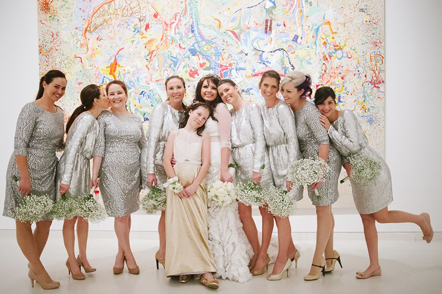 david & bettina   Dixie Pixel Photography.  Dying over this sparkly wedding!