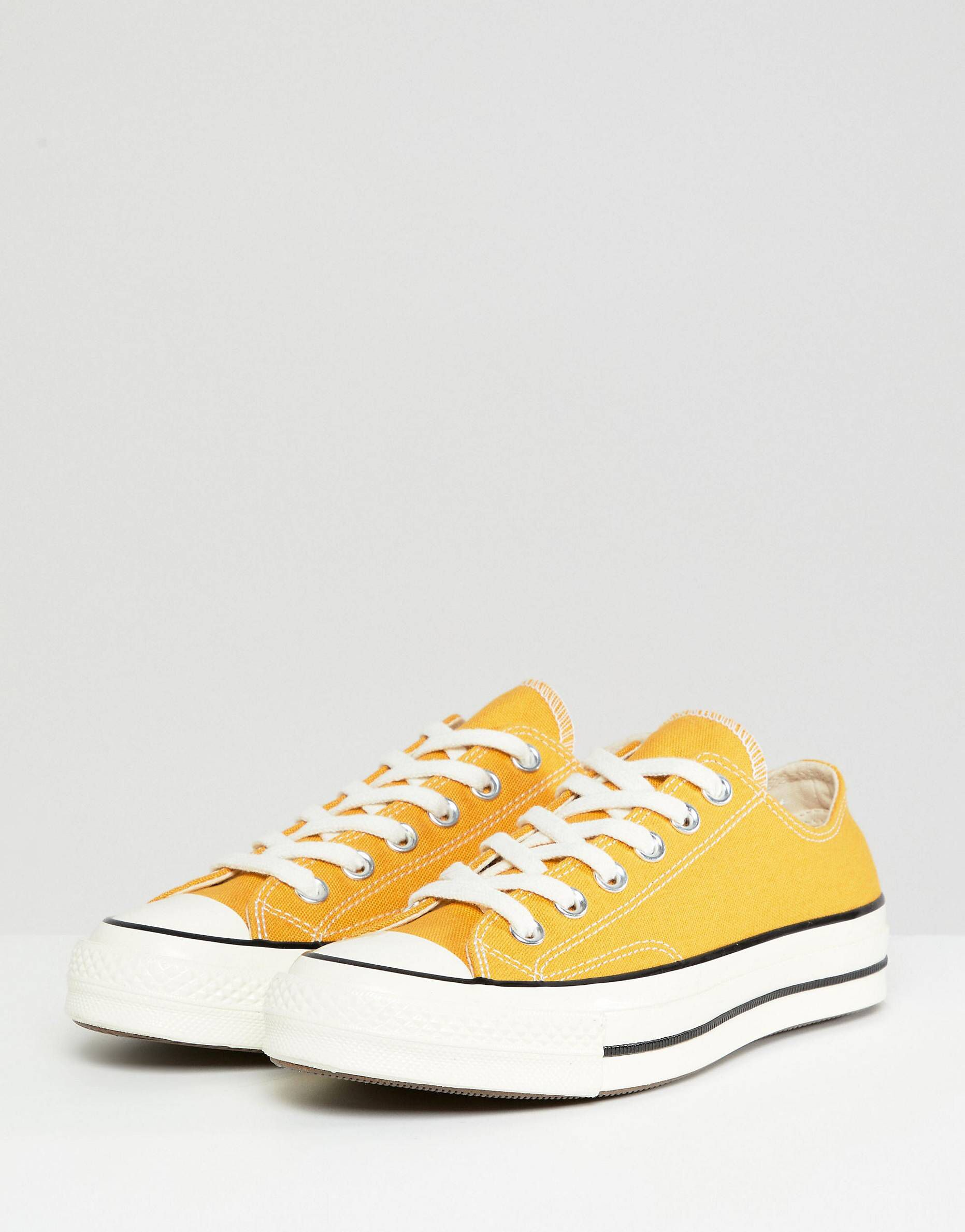 Yellow converse, Converse, Womens sneakers