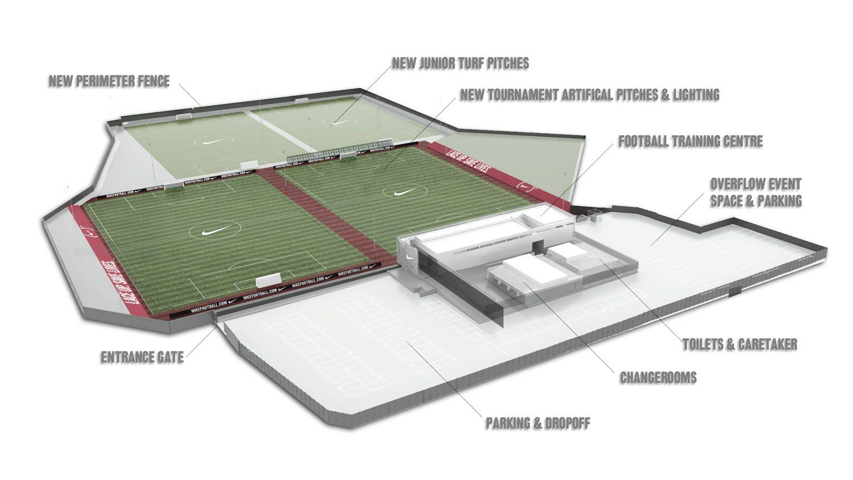 Football Training Centre Soweto rural / urban / fantasy