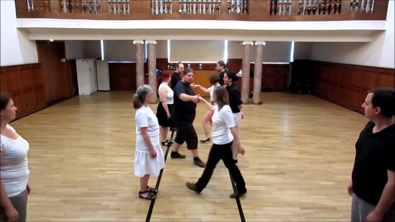 English Country Dance - The Indian Queen - with Tutorial - Arbon e.V.