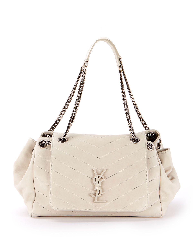 7e6186ea66d Nolita Large Monogram YSL Double Chain Shoulder Bag | aCCeSSoRiZe in ...
