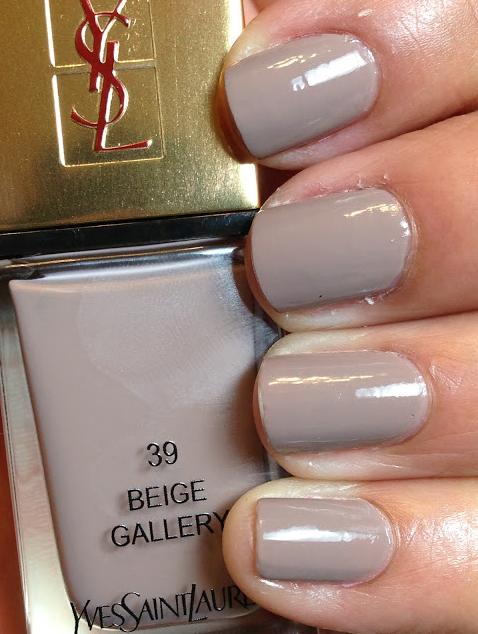 YSL -  Beige Gallery, a neutral taupe-beige cream