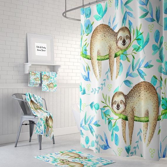 Stop Neglecting Bathroom Decor This Shower Curtain Bring A Fresh