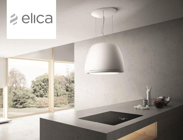 Elica: cappe ad isola con illuminazione | Home | Kitchen ...
