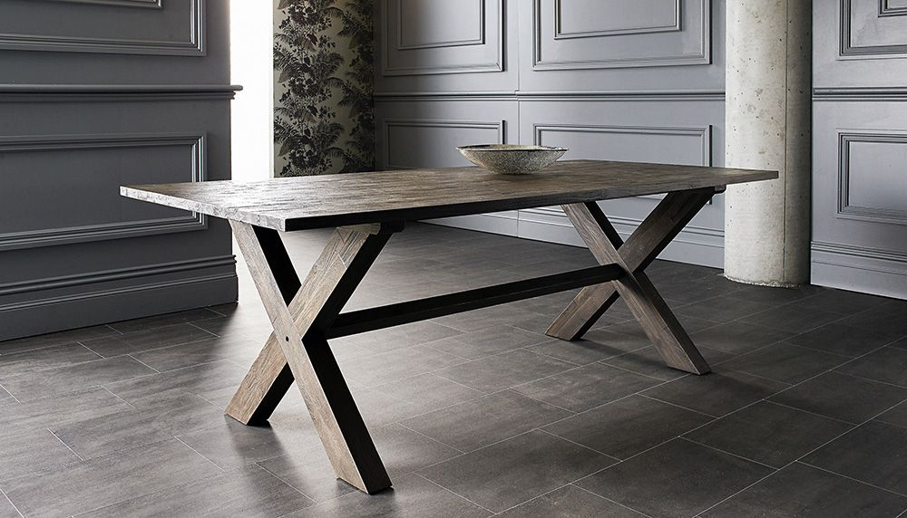 Browby dining tableNick Scali Rustic Industrial style  : 41f5e06167e1786ce30868987e00b36e from www.pinterest.com size 1000 x 572 jpeg 227kB