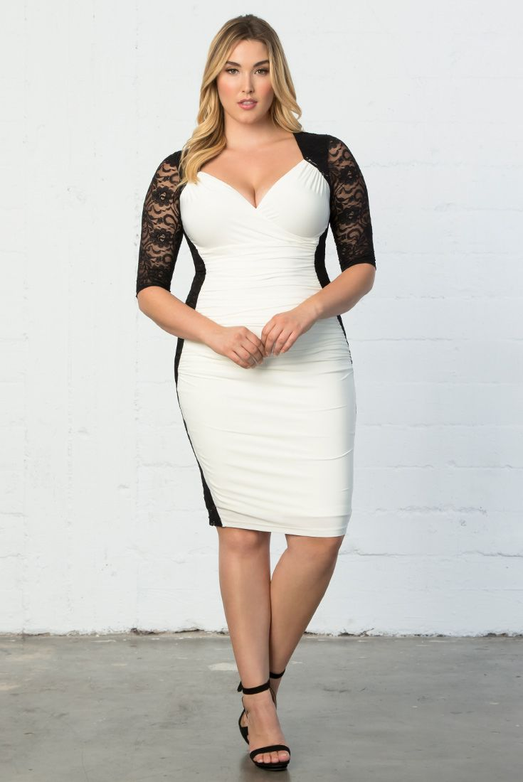 flaunt your curves in a sexy bodycon style like our plus size