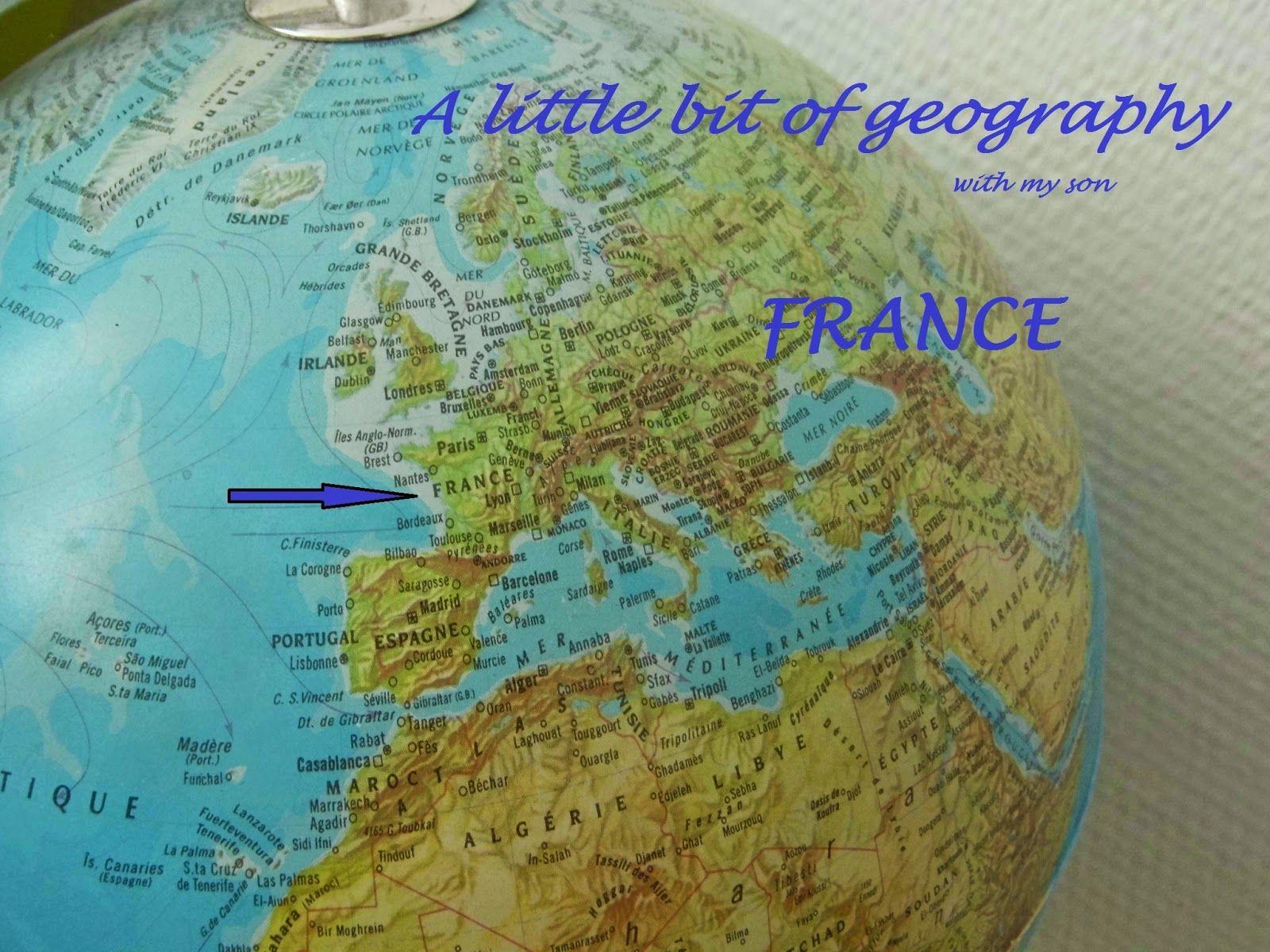 Un Peu De Geographie Francaise Avec Mon Fils A Bit Of
