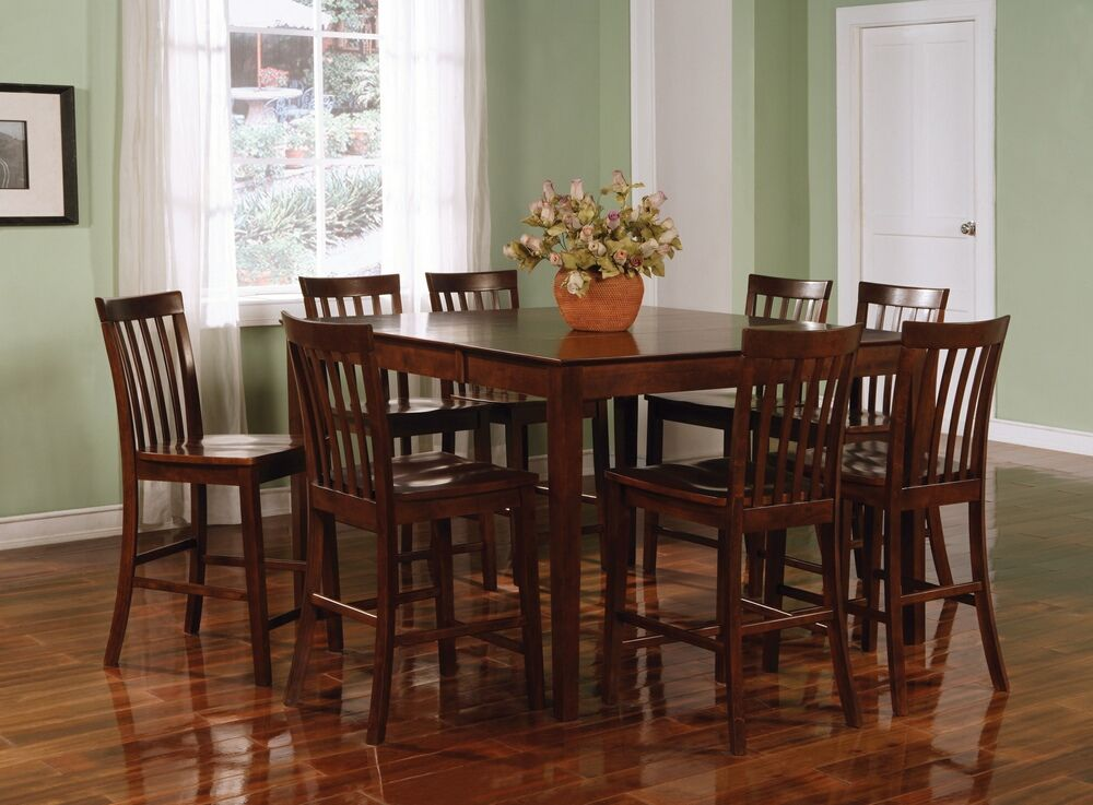 Coaster Pines Counter Height Dining Set in