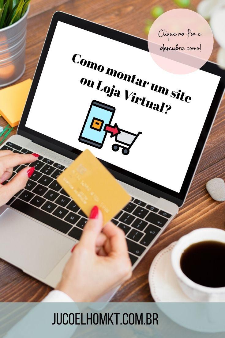 Quer montar o site ou loja virtual da sua empresa ...