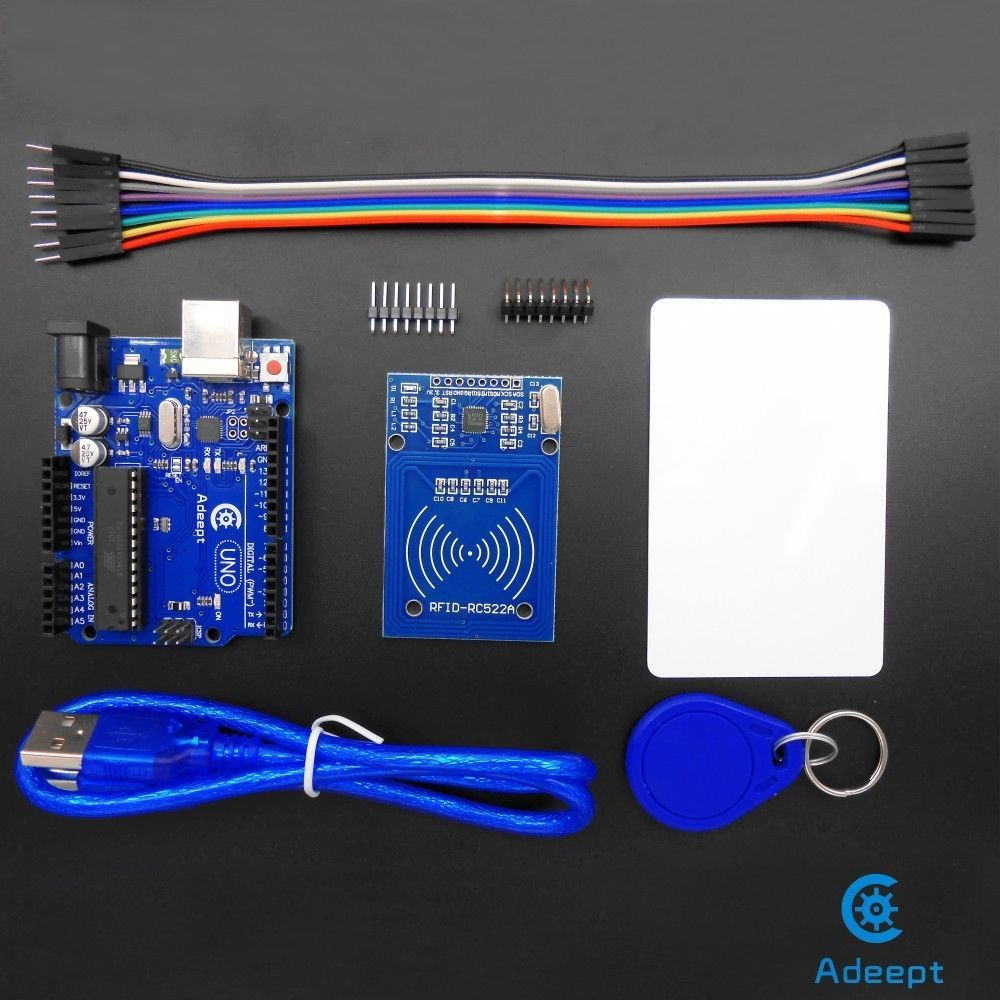 Adruino Uno R3 With Rc522 Rfid Reader Kit User Manual For Arduino Adafruit The Kitbased Electronics Retailer And Promoter Of Hobbyist Raspberry Pi
