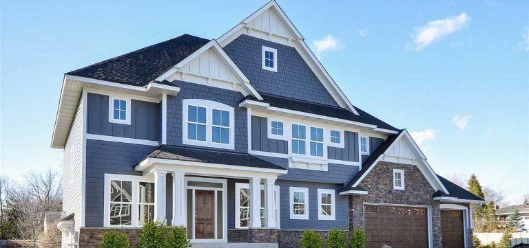 Cost To Install Siding 2020 Exterior Siding Prices With Images House Exterior Blue House Siding House Exterior