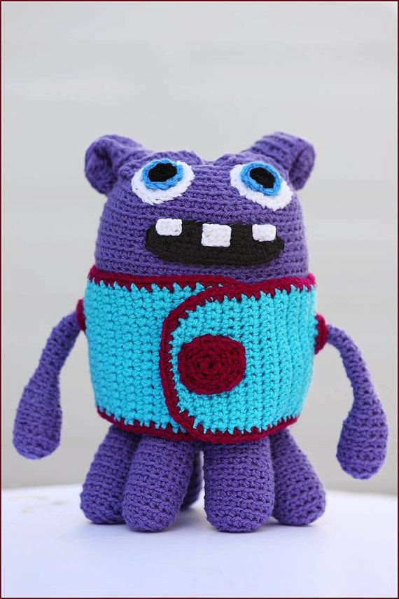 Digital Pdf Download Crochet Pattern For Oh From The Movie Home