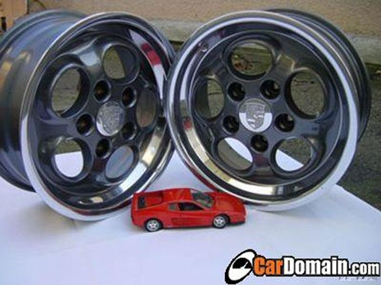 Polished Painted Early Model 944 Phone Dial Wheels Rennlist Discussion Water Cooler Porsche 944 Porsche