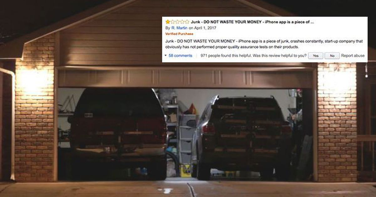 Guy Leaves Bad Review About Smart Garage Opener Gets Unexpected Response From Company Smart Garage Door Opener Smart Home Appliances Garage Door Opener