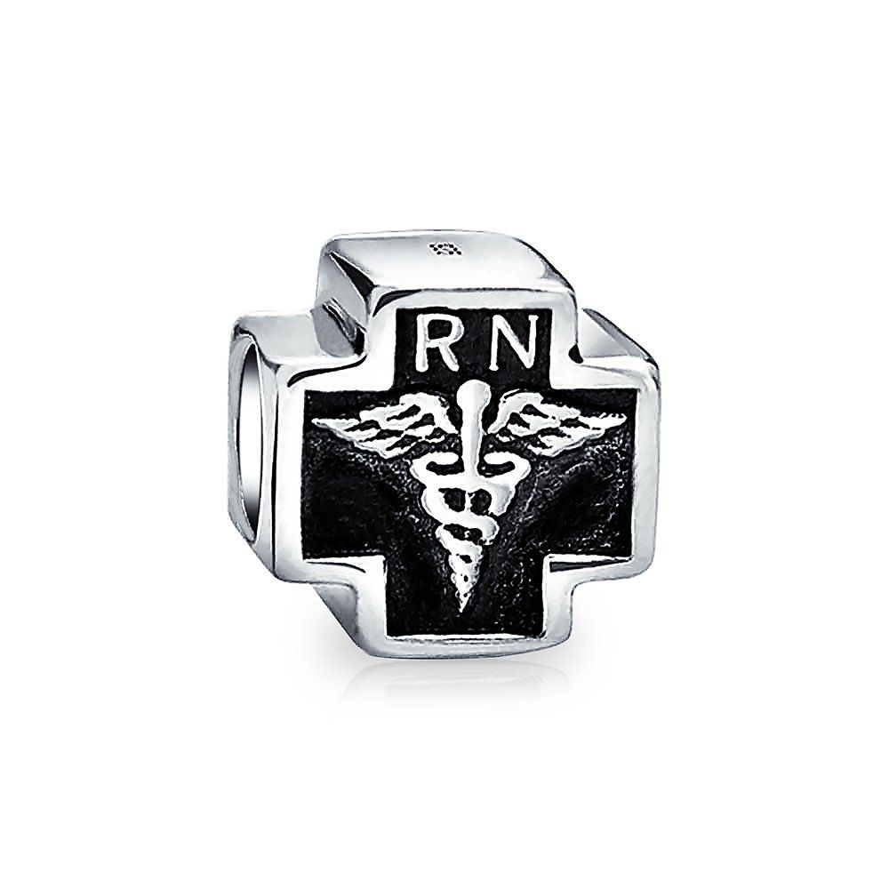 Bling jewelry nurse caduceus symbol bead charm 925 sterling bling jewelry nurse caduceus symbol bead charm 925 sterling silver whether youre an rn nurse practitioner or nursing student this caduceus can honor biocorpaavc